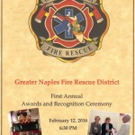 Veterans Visiting Veterans Participates In Greater Naples Fire Rescue District Annual Awards Ceremony