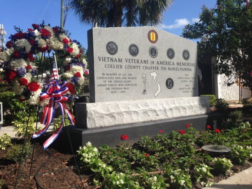 Veterans Day at Cambier Park 2015