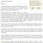 VVV Says Farewell To Military Veteran George Zdanoff